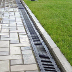 A Drainage Application Using NDS Channel Drain