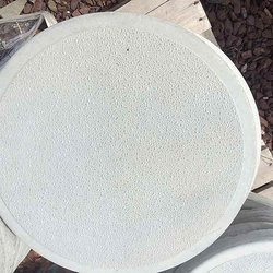 Round Stepping Stone White Glacial